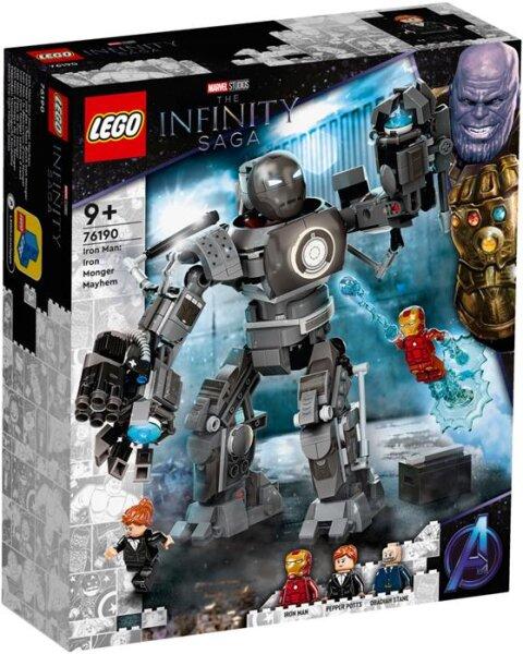 Iron Man und das Chaos durch Iron Monger