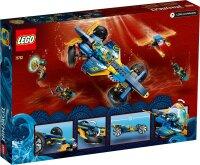 Ninja-Unterwasserspeeder