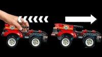 Stunt-Show mit Truck und Motorrad