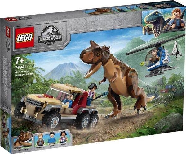 Verfolgung des Carnotaurus