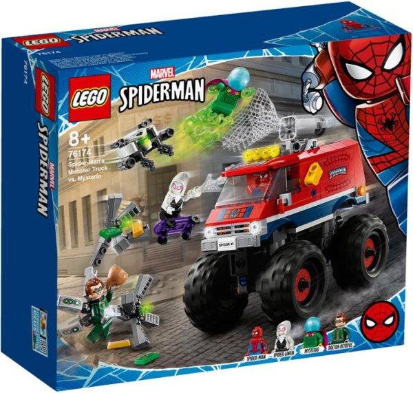 Spider-Mans Monstertruck vs. Mysterio