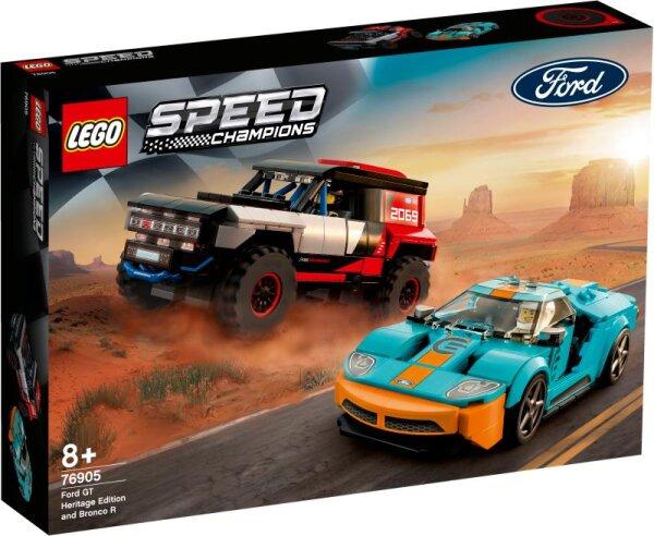 Ford GT Heritage Edition und Bronco R