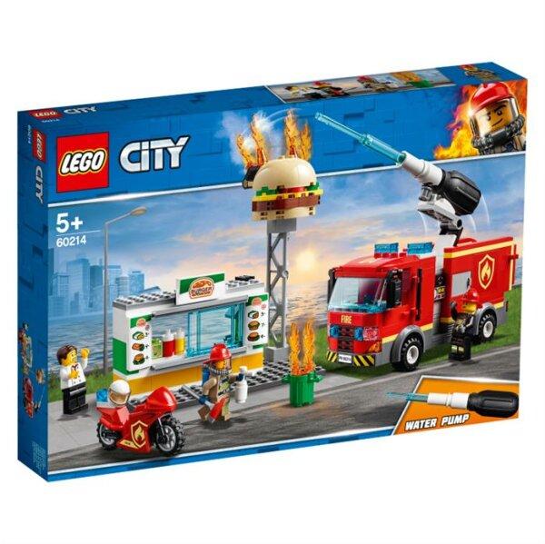 Feuerwehreinsatz im Burger-Restaurant