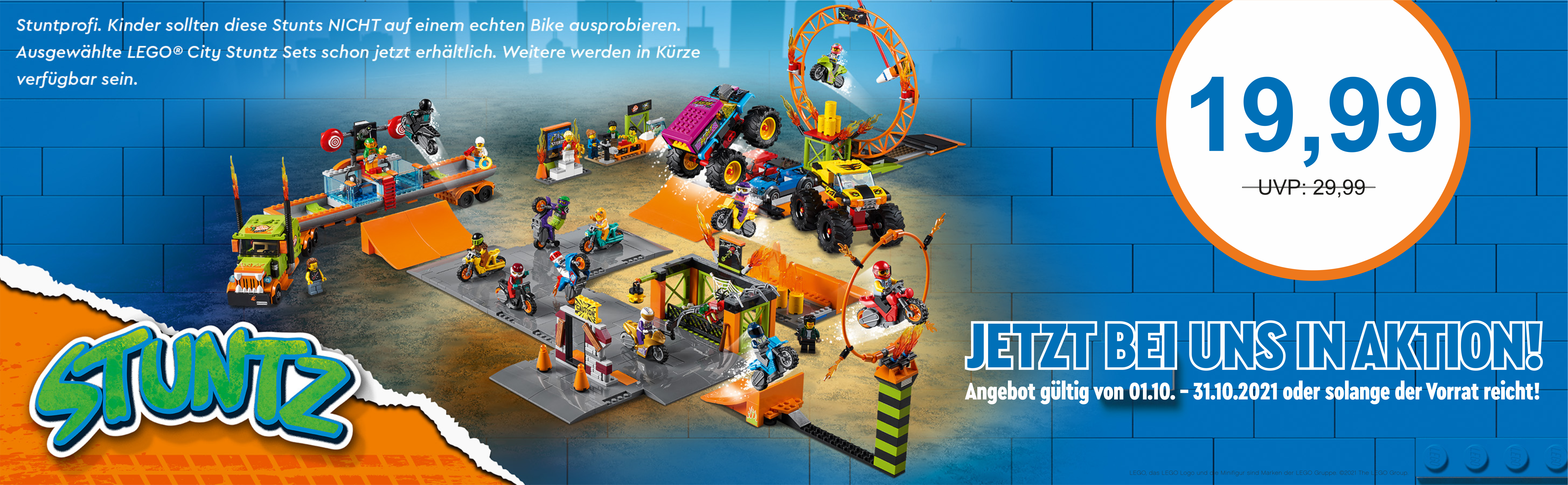 LEGO® City Stuntz